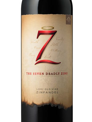 The Seven Deadly Zins is an old-vine zinfandel made with fruit from Lodi, California.
