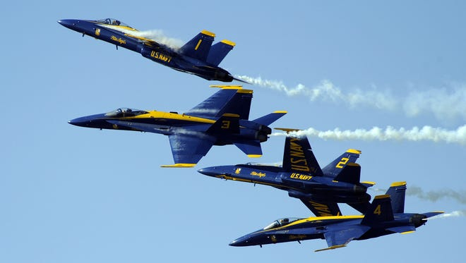 The Blue Angels are adding an extra day of practice this week.