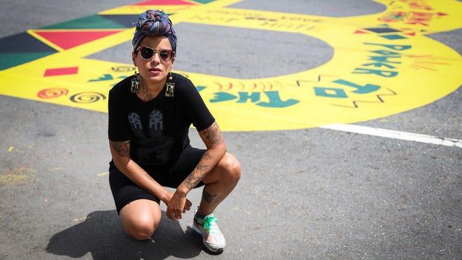 Nicole Coleman, artist and activist.