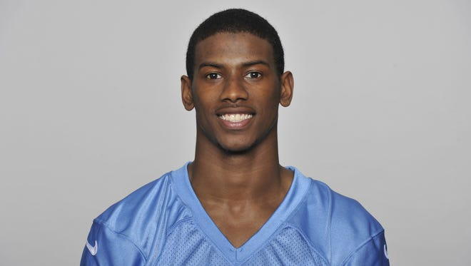 Titans wide receiver Justin Hunter