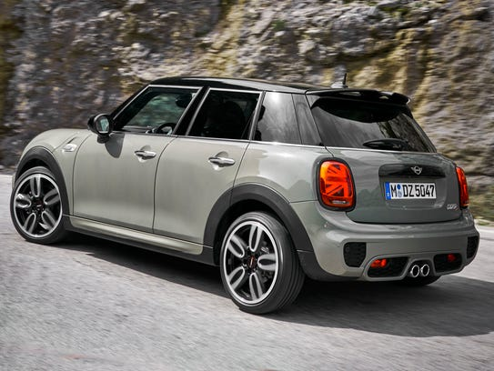 Here's a Mini with a black roof.