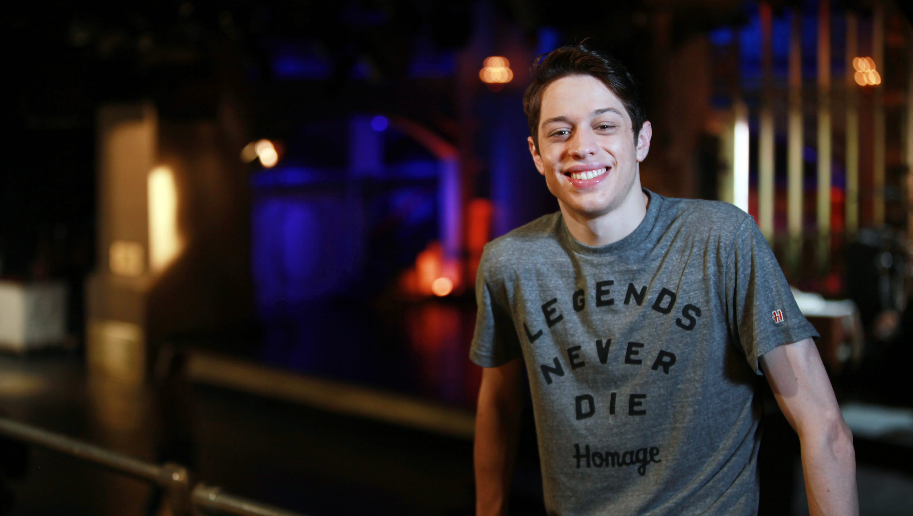 snl s pete davidson reveals he is sober for the