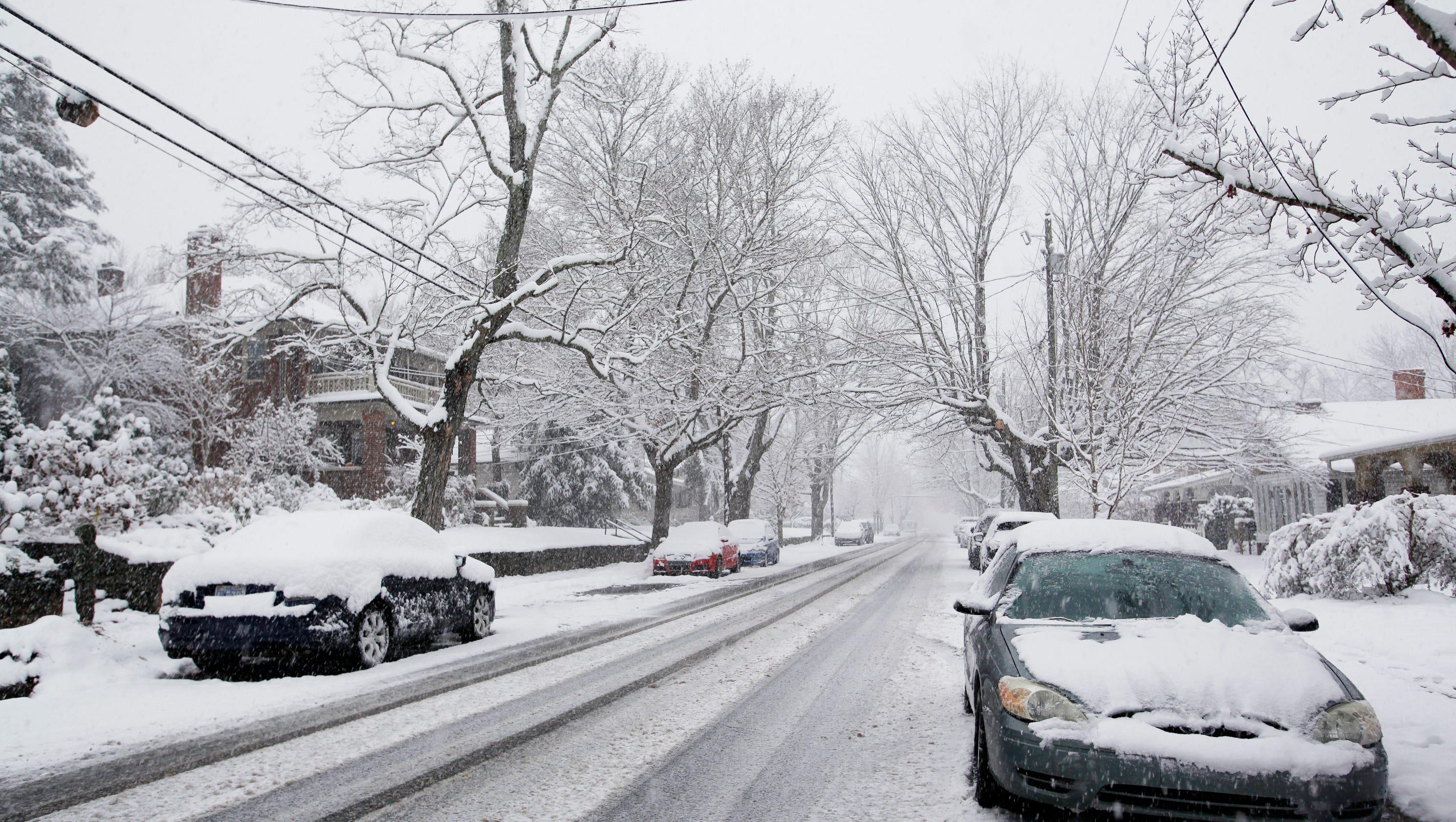 Carolina Cold Snap Wnc Faces Weeks Of Below Normal Temperatures