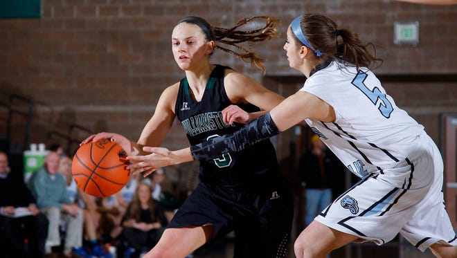 Williamston senior Renee Sturm, left, is a first team Class B all-state selection.