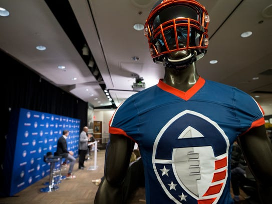 Alliance of American Football hold a press conference