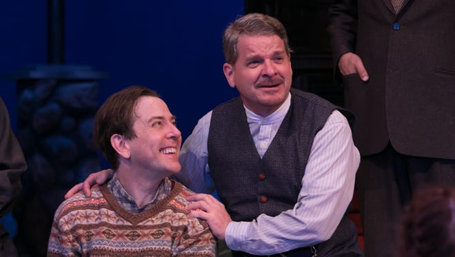"""Greg Jackson and Andy Paterson in """"A Child's Christmas in Wales."""""""