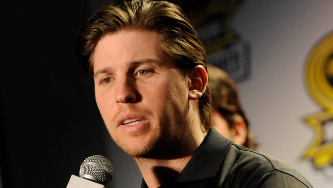 Denny Hamlin says his back feels better than ever after he broke it in a crash in March 2013 and missed four races.