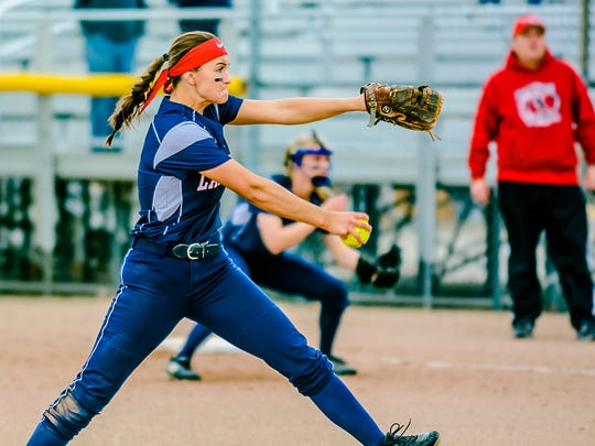 Kennedy Geiger is one of the top returning players for a Lakewood squad that won the Softball Classic last season.