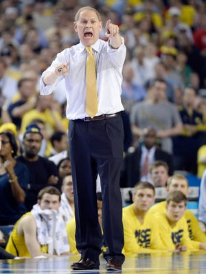 Michigan coach John Beilein says he has not had a chance to reflect on last year's trip to the Final Four.