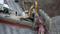 The Hopple Street overpass collapse Tuesday morning.