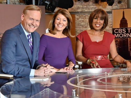John Dickerson joined Norah O'Donnell and Gayle King in the new lineup of 'CBS This Morning' earlier this year.