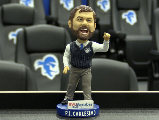 This P.J. Carlesimo bobbelhead will be given out Saturday