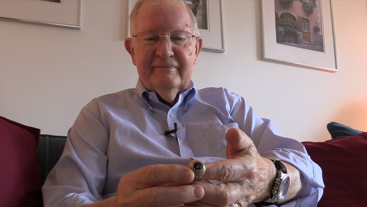 How a ring lost in Iowa 50 years ago led to a forever friendship from 1,000 miles away