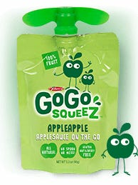 The CEO of GoGo squeeZ has announced it is recalling specific applesauce pouches of the children's snack due to possible mold.