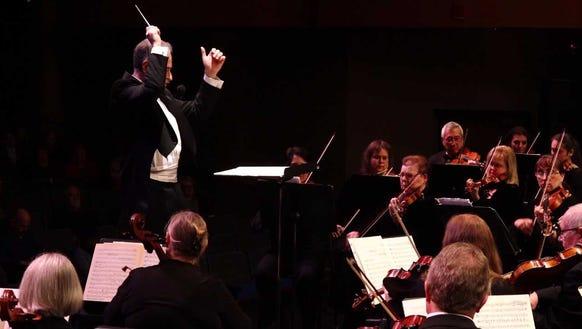 Music director Alan Futterman leads the Bremerton Symphony