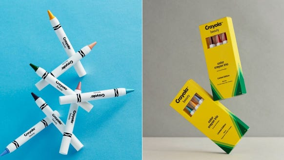 Crayola Beauty has partnered with online retailer ASOS;.