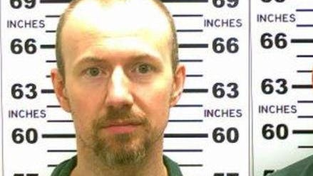 David Sweat, the inmate who escaped from an upstate New York prison in June 2015, led police on a three-week manhunt and was shot and captured near the Canadian border. (Photo by New York State Police via Getty Images)