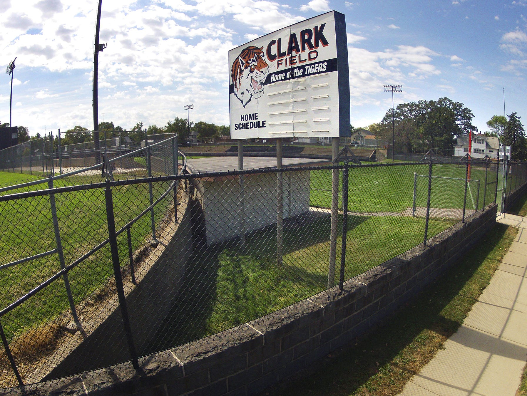Tuesday's afternoon's freshmen football game between St. Cloud Tech and Alexandria was the last game scheduled to be played at Clark Field. The school district plans to build new district offices on the site. The Tech varsity has not played there since 2012.
