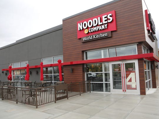 A Noodles & Co. restaurant in Lafayette, Indiana.
