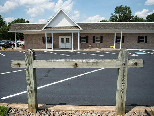 The new location of Ellis Lee Hosttetter at 1810 S. Fifth Ave. in South Lebanon Township on Tuesday, July 12, 2016 even includes a horse hitching post for their Amish customers.