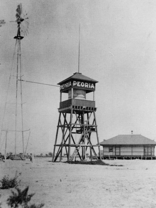 Peoria train depot