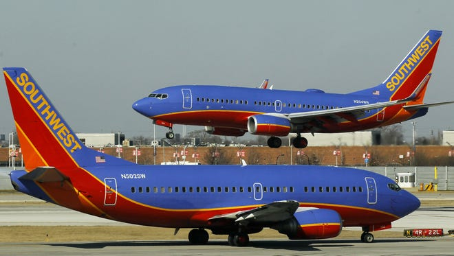 Southwest Airlines on Saturday made its final flight from Jackson Medgar Wiley Evers International Airport.