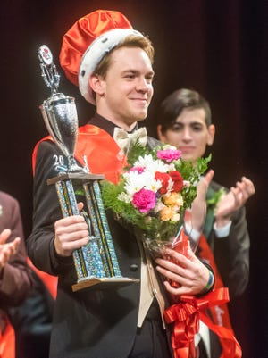 Thomas Burgess, Mr. June, is named the 24th Annual Mr. Vineland on Thursday, January 12 at Vineland High School.