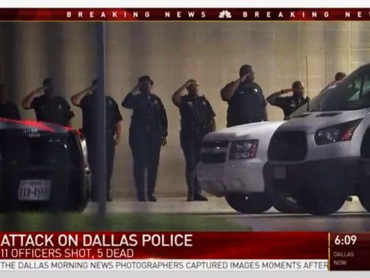 AP POLICE SHOOTINGS PROTEST A USA TX