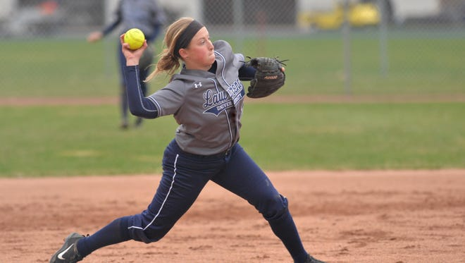 Kori Looker, a Lawrence softball player from Weyauwega, made the Midwest Conference all-conference team this season.