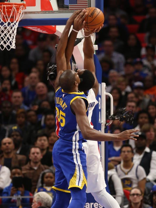 Warriors vs Pistons