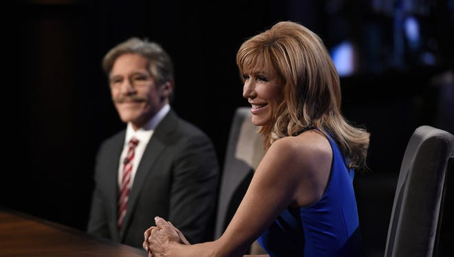 Geraldo Rivera and Leeza Gibbons face off in the finale.