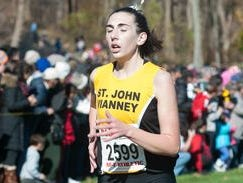 St. John Vianney's Nora Honrath places seventh at the Meet of Champions.