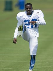Darius Butler has slid from his usual spot at cornerback to safety during training camp.