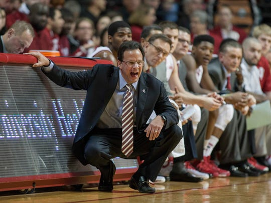 Tom Crean has had to be creative with lineups this season.