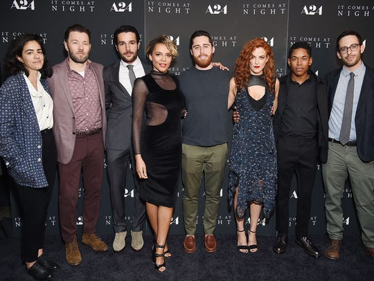 """The """"It Comes at Night"""" team attends the film's premiere"""