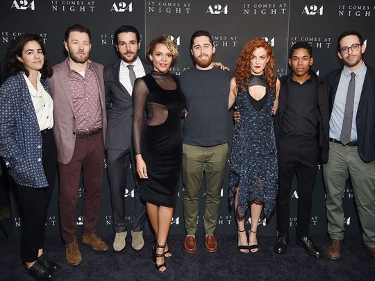"The ""It Comes at Night"" team attends the film's premiere"