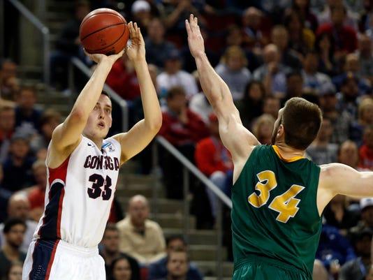 NCAA Basketball: NCAA Tournament-2nd Round-Gonzaga vs North Dakota State