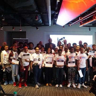 Something we all can agree on: Pistons using sports to help Detroit youth