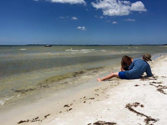 Nash and I still love Bunche Beach