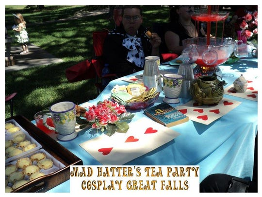 Cosplay Great Falls sets the table for its fourth Annual Mad Hatter's Tea Party this Sunday.