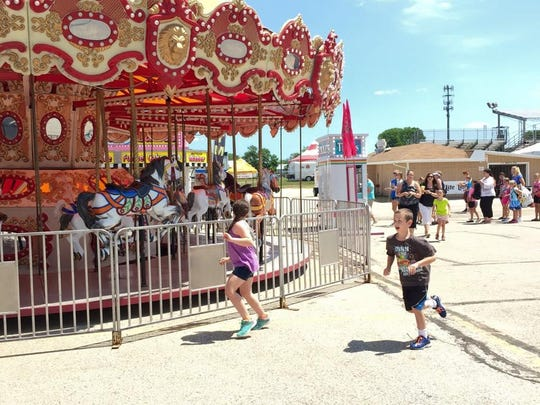 Visitors flocked to the 164th annual Fond du Lac County fair for rides, games and snacks galore on Wednesday, July 15.