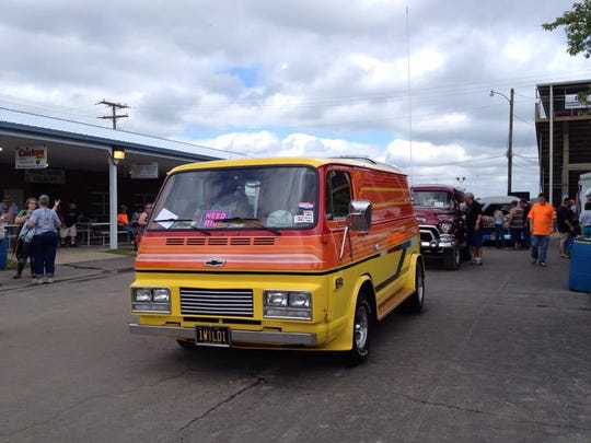 This 1969 Chevrolet 108 van was a winner for Greg Purma