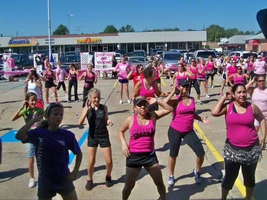 Contessa Ratcliff, owner and instructor at Zumba Shreveport, said students often gain confidence, lose weight and learn new dance techniques in class.