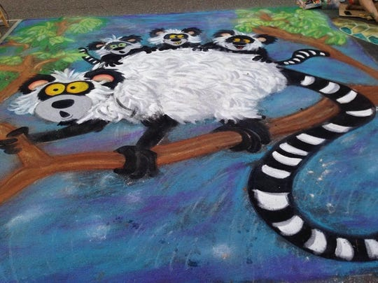 "Sheboygan Visual Artists and Mead Public Library will host a ""Chalk it Up"" sidewalk art competitionon Saturday, Aug. 15. Registration will open at 7 a.m."