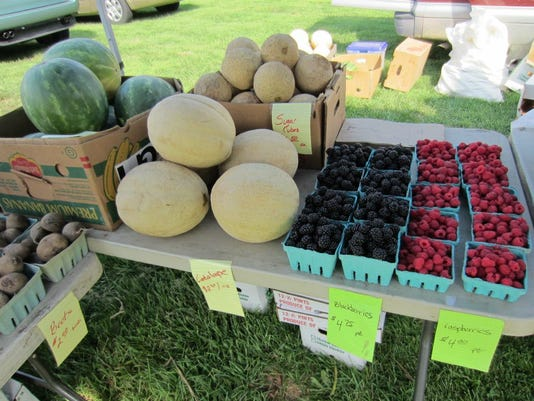 The Farmers Market in Hershey aims to improve access to locally grown food and promote healthy living. (Photo courtesy Farmers Market in  Hershey)