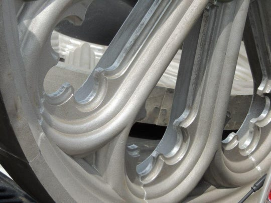 Clarksville Foundry produced aluminum castings to replicate a historic church's Gothic Revival rosette windows.