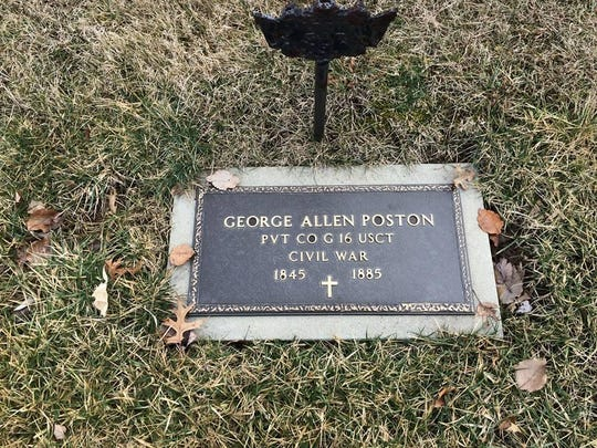 Civil War veteran George A. Poston, originally from Boone County, served in the Union Army during the Civil War. He later settled in Oxford, Ohio.
