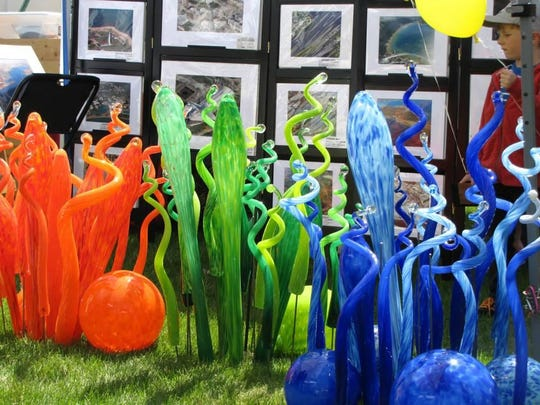 Lawn art often is a popular attraction at the Sturgeon Bay Fine Art Fair, this year taking place May 28 and 29.