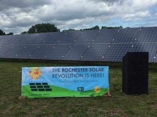The Community Solar program at SED