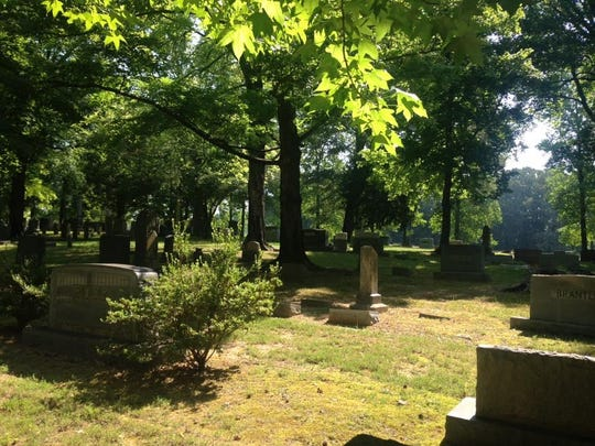 The Taylor Cemetery is part of the 11-acre campground at Tabernacle United Methodist Church.